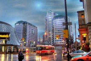 Centre ville de Toronto, Ontario, Canada